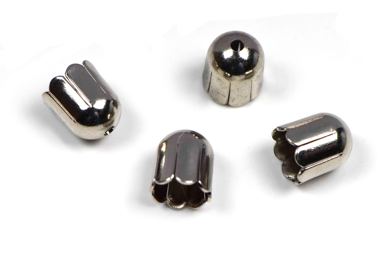Endkappen 6mm in platin kaufen - Feineperle.at Glasperlen und ...